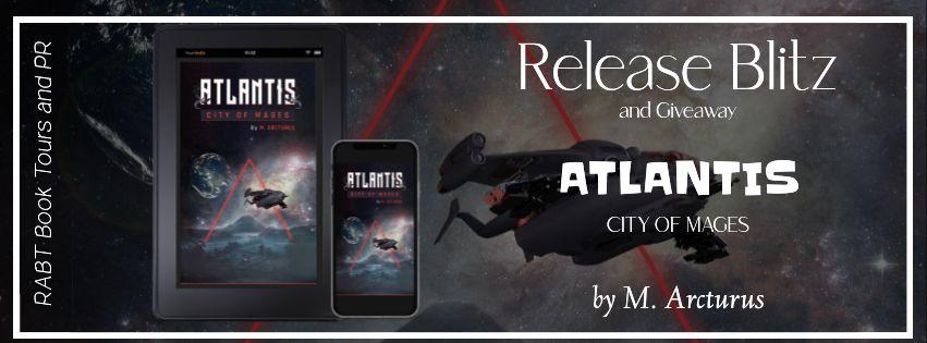 Blitz + Giveaway: Atlantis City of Mages