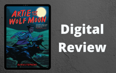 Review Graphics Novel – Artie and the Wolf Moon